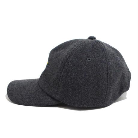 O.G.T 6PANEL WOOL CAP (LINK) CHARCOAL