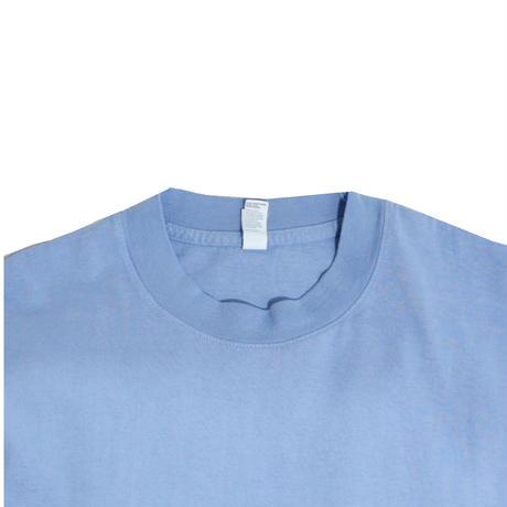 LOS ANGELES APPAREL S/S T-SHIRTS(Garment Dye) C.BLUE