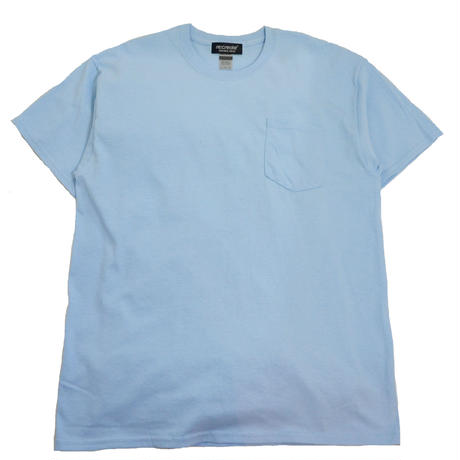 re:create (S/S 無地 POCKET T-SHIRTS) L.BLUE