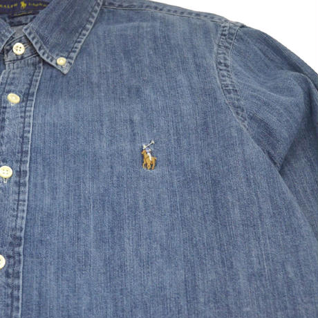 POLO RALPH LAUREN L/S DENIM SHIRTS DENIM