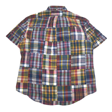 POLO RALPH LAUREN S/S PATCHWORK SHIRTS MADRAS
