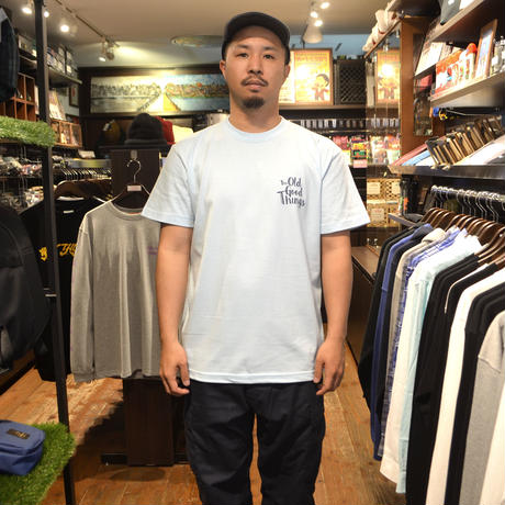 OldGoodThings S/S T-SHIRTS (WEEKEND) L.BLUE