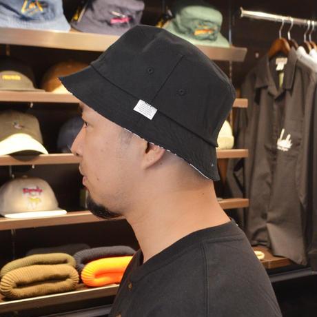 HUF BUCKET HAT (HAZE & HUF) BLACK