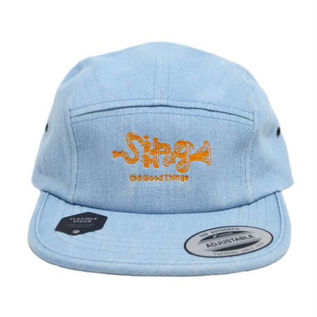 O.G.T 5PANEL CAP (Sing) L.DENIM