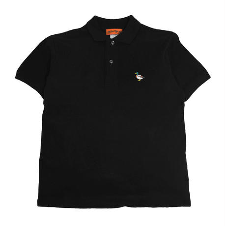 OldGoodThings S/S POLO SHIRTS (RIVER SIDE) BLACK