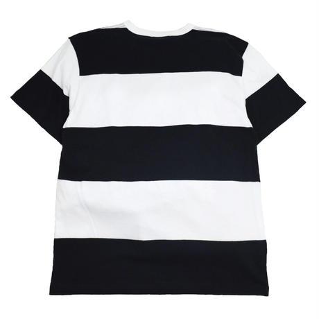 re:create ORIGINAL (S/S BORDER T-SHIRTS) BLACK/WHITE