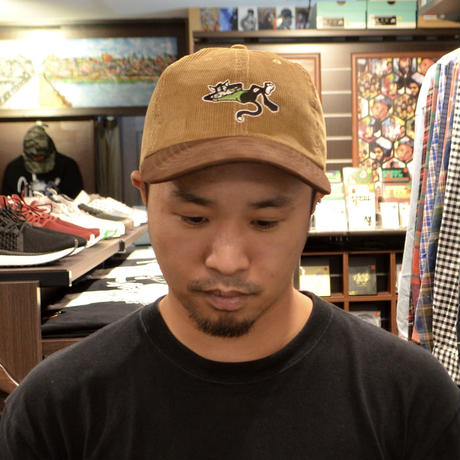 OldGoodThings ORIGINAL 2TONE B.B CAP (WHY THE RUSH?) TAN/BROWN