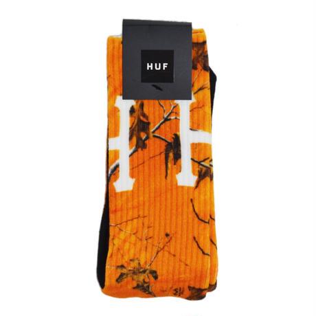 HUF SOCKS (DIGITAL REAL TREE) ORANGE