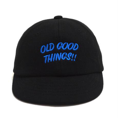 OldGoodThings (O.G.T ORIGINAL UMPIRE CAP) BLACK