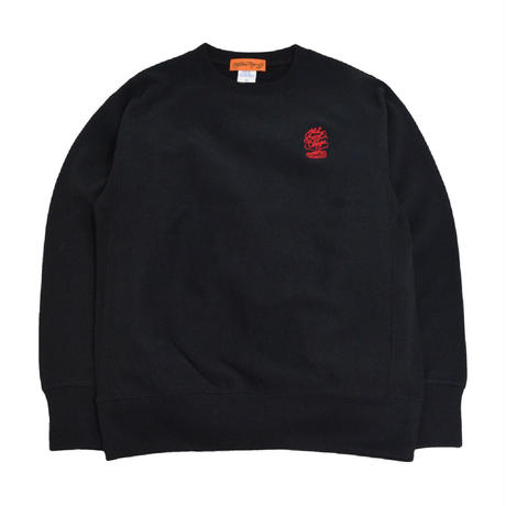 OldGoodThings CREWNECK SWEAT (O.G.T LOGO) BLACK