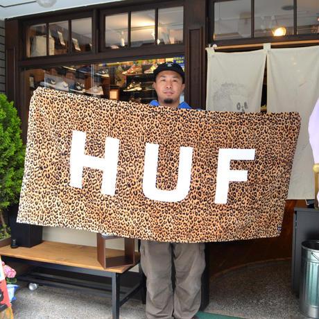 HUF (BEACH TOWEL) LEOPARD