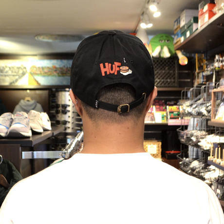 HUF 6PANEL CAP (HUF X POPEYE) BLACK