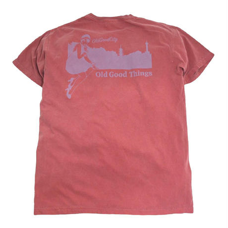 OldGoodThings S/S T-SHIRTS (OLD GOOD CITY) CRIMSON