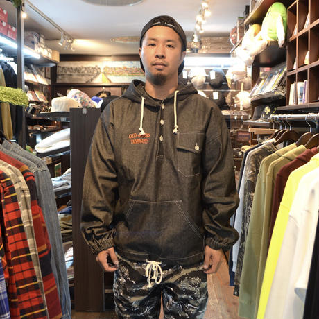 OldGoodThings ANORAK (GOOD PLAYER) BLACK DENIM