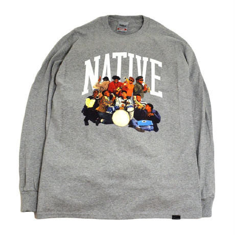 STILLAS  L/S T-SHIRTS (NATIVE) GREY