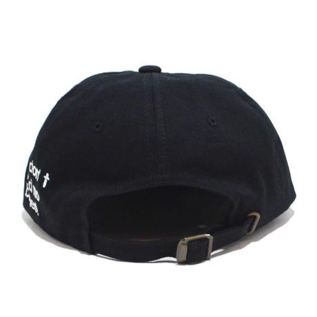 O.G.T 6PANEL CAP (BADGES) BLACK