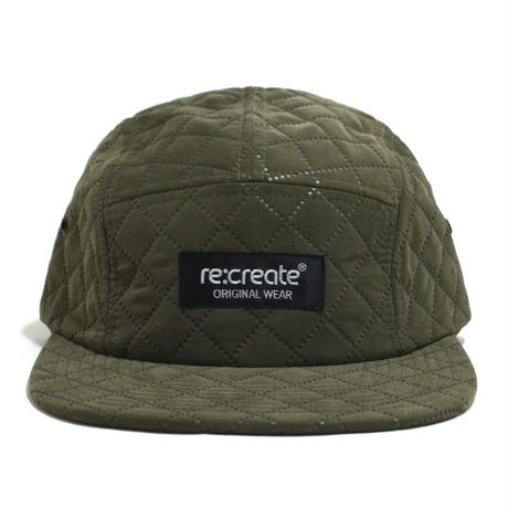 re:create (QUILTING CAP) OLIVE