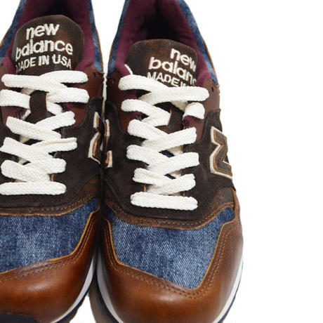 NEW BALANCE (M997 MADE IN USA) BROWN/BLUE
