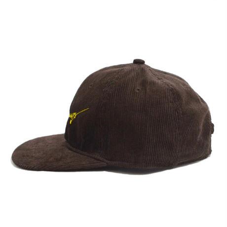 O.G.T CORDUROY 6PANEL CAP (BetterDays) D.BROWN