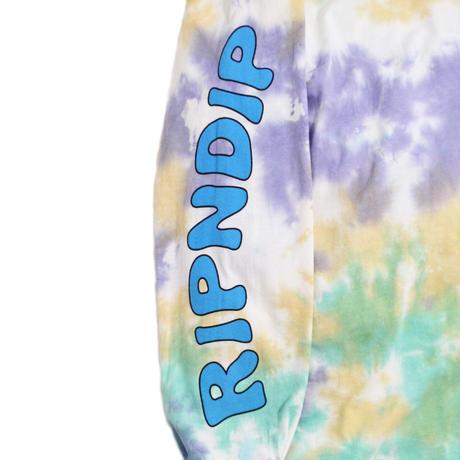 RIPNDIP L/S T-SHIRTS (LUCKY CHARMS) TIE DYE WASH