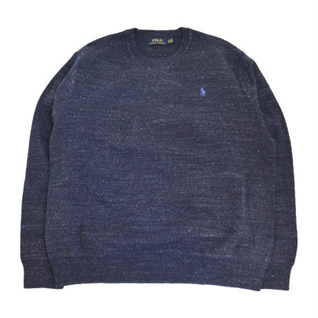 POLO RALPH LAUREN (COTTON SWEATER) NAVY
