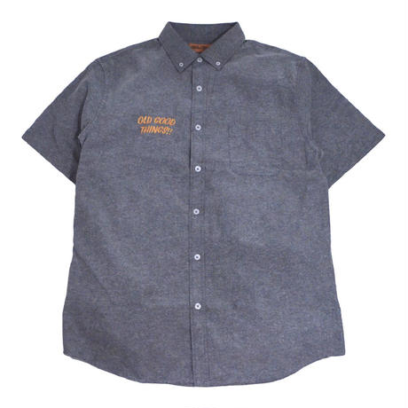 OldGoodThings S/S OX SHIRTS (ALL GOOD DAY) CHARCOAL