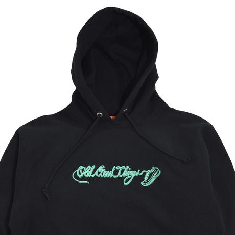 O.G.T SWEAT PARKA (OLD&NEW) BLACK