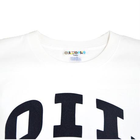 OILWORKS S/S T-SHIRTS (OILRECORDS) WHITE