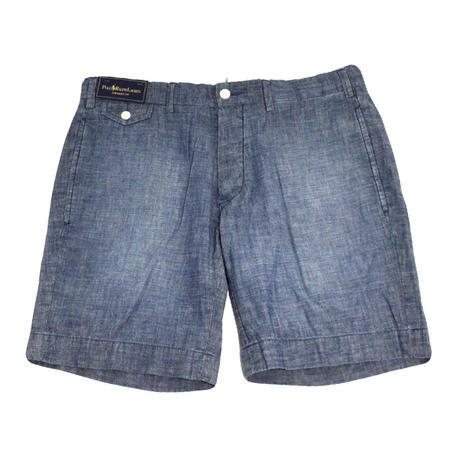 POLO RALPH LAUREN(Chambray Shorts)LIGHT BLUE