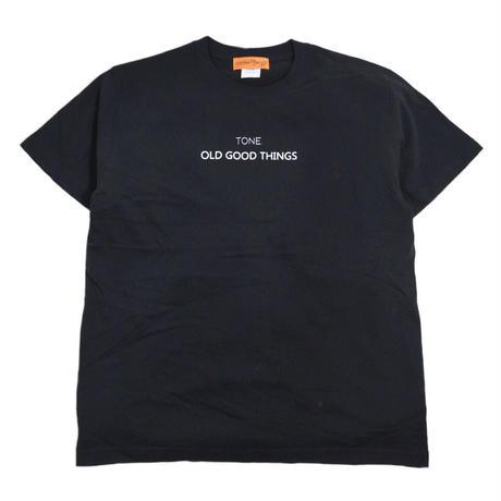 O.G.T S/S T-SHIRTS (TONE.) BLACK
