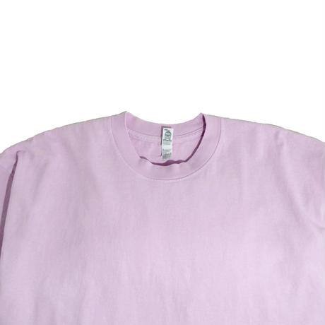 LOS ANGELES APPAREL S/S T-SHIRTS(Garment Dye) PINK