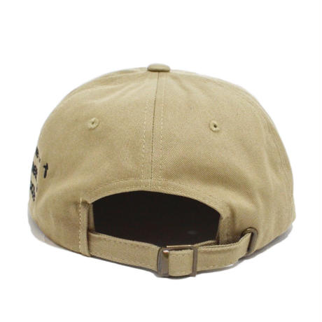 O.G.T 6PANEL CAP (BADGES) KHAKI