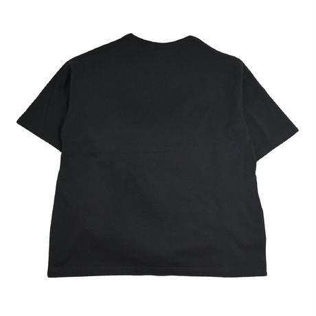 re:create S/S T-SHIRTS (PLAYER) BLACK