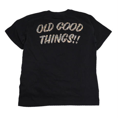 OldGoodThings S/S T-SHIRTS (SURVIVOR) BLACK