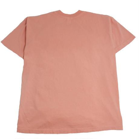LOS ANGELES APPAREL S/S T-SHIRTS(Garment Dye) CORAL