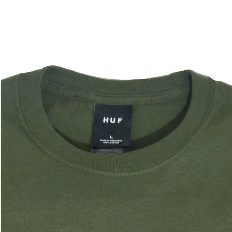 HUF S/S T-SHIRTS (NUG MAN) OLIVE