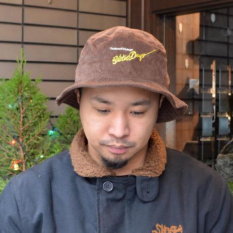 O.G.T CORDUROY BUCKET HAT (BetterDays) D.BROWN