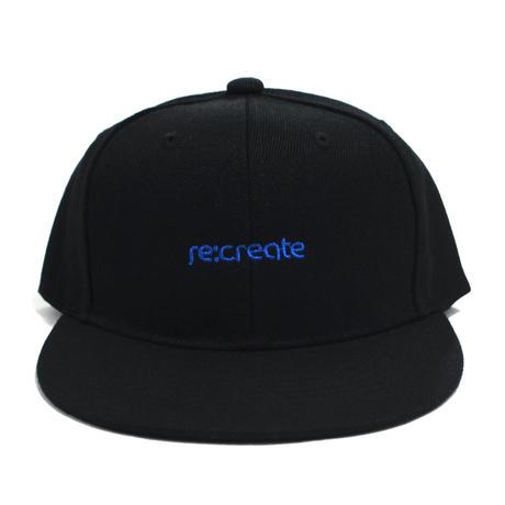 re:create SNAPBACK (PLAYER) BLACK