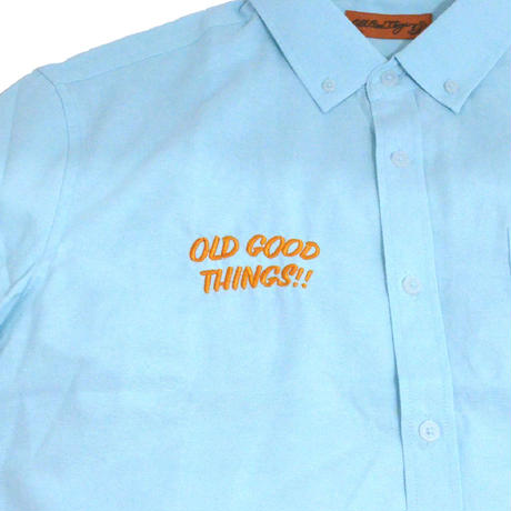 OldGoodThings S/S OX SHIRTS (ALL GOOD DAY) MINT