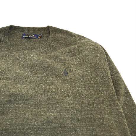 POLO RALPH LAUREN (COTTON SWEATER) GREEN