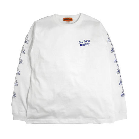 OldgoodThings L/S T-SHIRTS (NEVER 2019) WHITE
