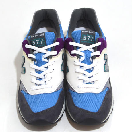 NEW BALANCE (M577 MADE IN ENGLAND) GREY/L.BLUE/WHITE