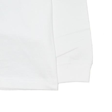 O.G.T L/S T-SHIRTS (BADGES) WHITE