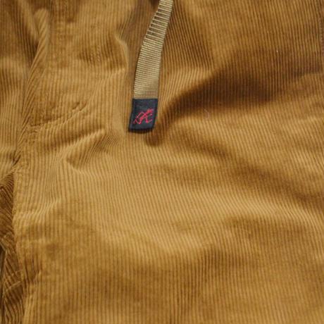 GRAMICCI EASY PANTS (CORDUROY - JUST CUT) CAMEL