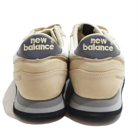 NEW BALANCE (M770 MADE IN ENGLAND) BEIGE/WHITE