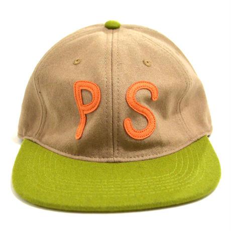 POLER (POLER ORIGINAL PS WOOL CAP) BEIGE / GREEN