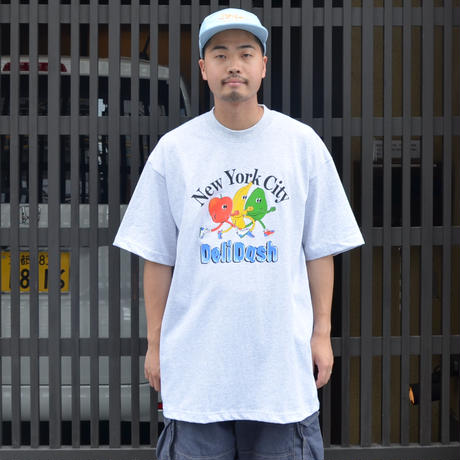 Only NY S/S T-SHIRTS (NYC Deli Dash) ASH