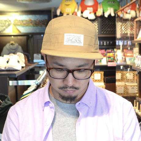 HUF STRAP BACK (TUNDRA VOLLEY) TOBACCO
