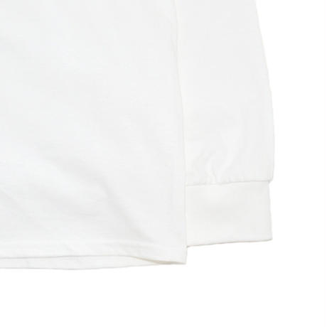 HUF L/S T-SHIRTS (HAZE REMIX) WHITE
