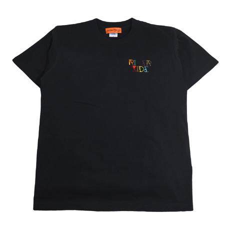 OldGoodThings S/S T-SHIRTS (RIVER SIDE - NEON) BLACK